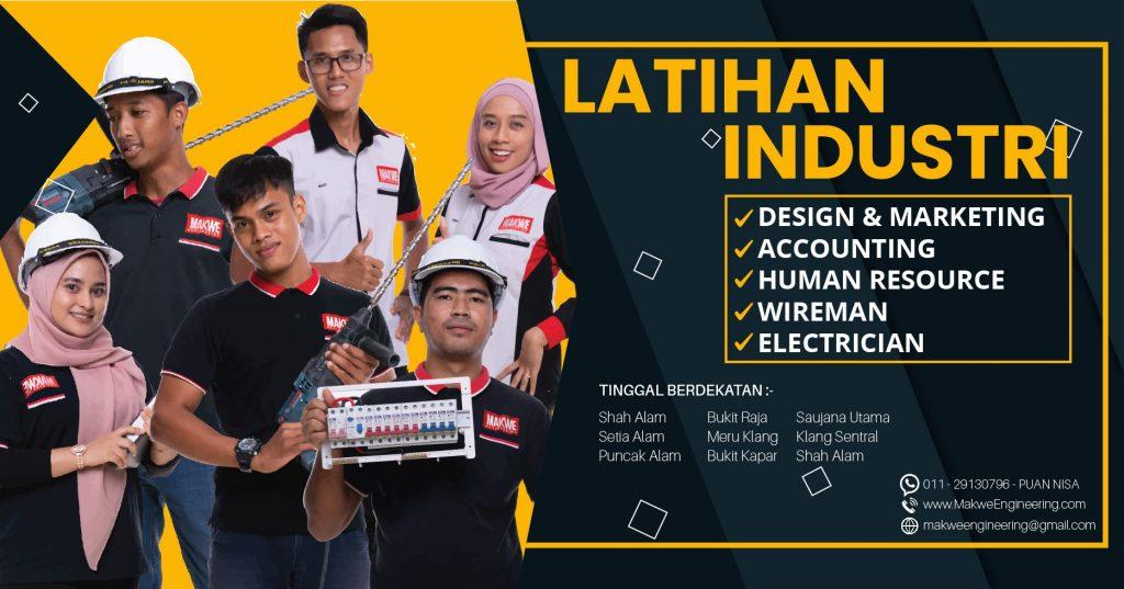 Latihan Industri, Internship, Practical, Praktikal, On the Job Training di Meru, Klang