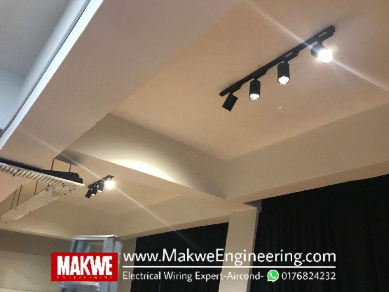 Wiring dan Pasang Lampu Tracklight